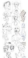 Sketch Dump I by Roihe