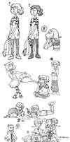 Illustration Dump by Roihe
