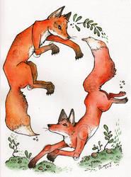 Foxy by Roihe