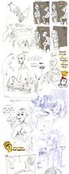 Sketch Dump IV by Roihe