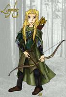 Legolas Greenleaf by Narya91