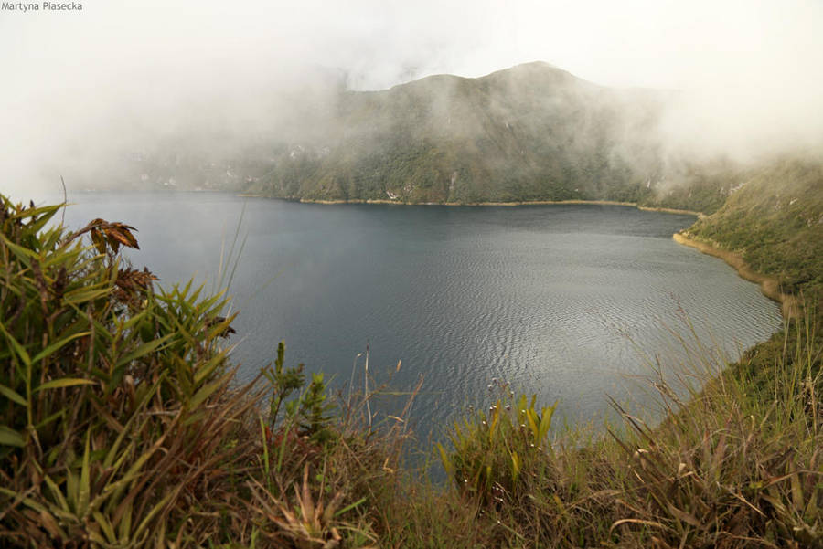 Laguna de Cuicocha by Piasecka