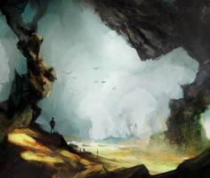 mining cave by ygnacijus