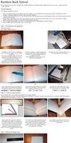 Rainbow Book Tutorial by BoekBindBoetiek