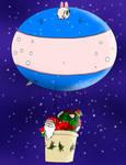 Maydine.  Santa's New little helper! by MedalBambi