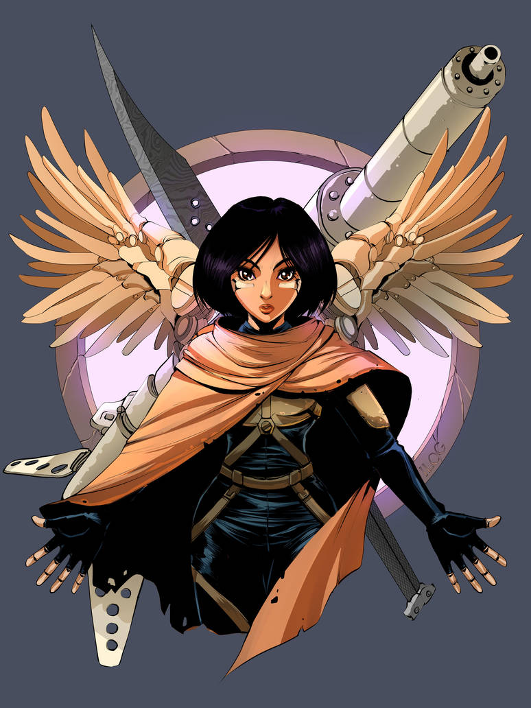 Battle Angel Alita Tuned Armor by tagailog