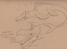 Graboid Stage 4 - Water Worm by guilmon182