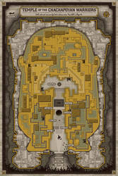 Trap Map (Raiders of the Lost Ark) by APetrie74
