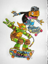 Mikey and Mondo by APetrie74