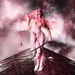 Pink Heather by EsatBaran