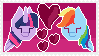 Twidash stamp by Sodium--oxide