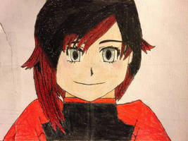 Ruby Rose Colored by dragonboy1092