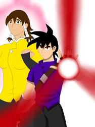 Art trade with Legacycreator97  by dragonboy1092
