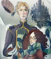 La passe-miroir : Ophelie et Thorn by Simetrah