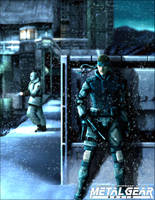 MGS - Solid Snake by Jonneh86