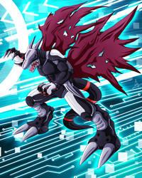Cyberdramon by RinaTiger-Art