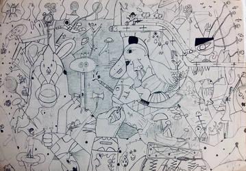 Chaos Mountain by AayushmanK
