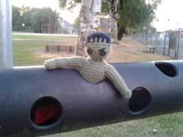 Tiny Hulk Loves Tube by KnotInTheCoffin
