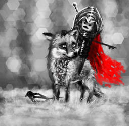 Day59 Fox Rider by Foxeus