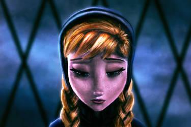 Day 60 Princess Anna by Foxeus