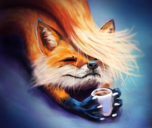 171203 CoffeeFox by Foxeus