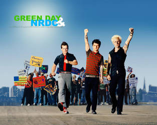 Green Day + NRDC wallpaper 8 by alexloony