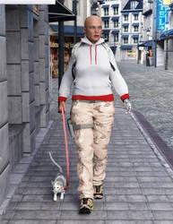 Alysia - Walking the streets of Esbjerg by Kadaj777