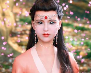 Flower Fairy Jinmi by Kadaj777