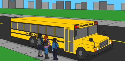 It's a School Bus by The-Legendary-Female