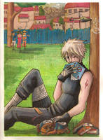 Kakashi day off by sketchdoll