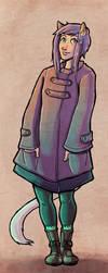 Winter Coat Mari by sketchdoll