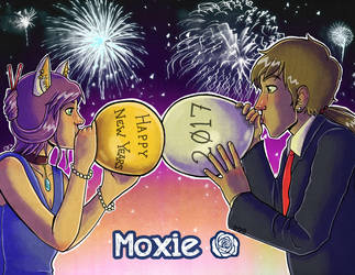 NewYears2017 by sketchdoll