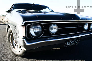 Falcon Hell by hellphoto