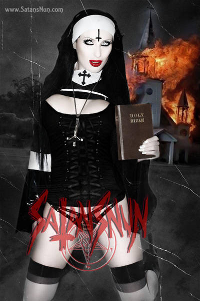 SatansNun Evil Nun Possessed by hellphoto