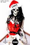 SkullCunt Xmass Crackhead by hellphoto