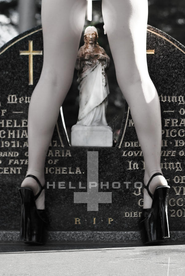 Blasphemy by hellphoto