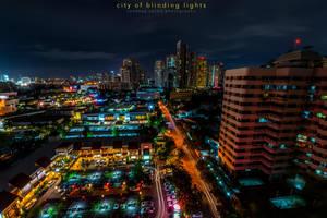 city of blinding lights by sandeepsarma