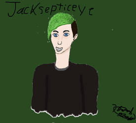 Jacksepticeye by EglantineAlba