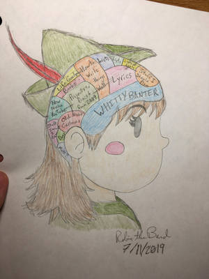 What Goes On In My Head Competition: RobinTheBard by RobinTheBard