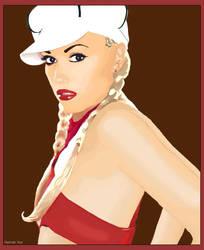 Gwen Stefani by InsertUsername