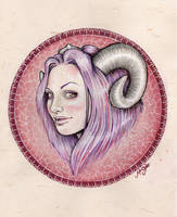 Aries by MsSophieArt