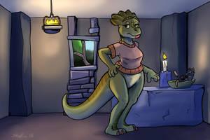 Dinosaur Dinner by Shieltar