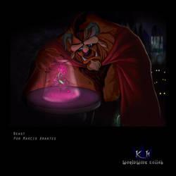 Beast - Kingdom Hearts by Wolfzero-kun