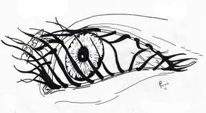 Eye Fly by meregoddess