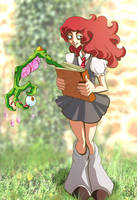 Rose Weasley d'aww by Buuya