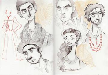 Sketchbook Tudors by Buuya