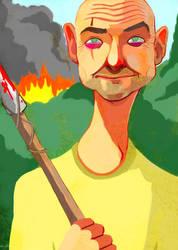 June 23: John Locke by Buuya