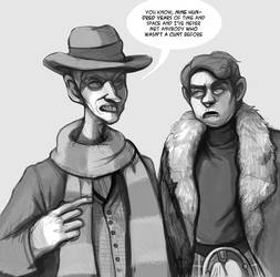 Jamie and the Doctor by Buuya