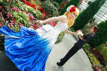Shingeki no Kyojin - Wedding Historia Reiss Ymir by Xeno-Photography