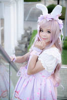 Casual - Bunny Lolita by Xeno-Photography